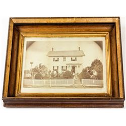 Mammouth Print of a 19th Century House  (56141)