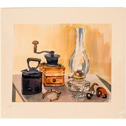 Still Life Watercolor by Mildred Lane  (116732)