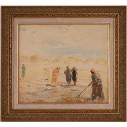 Thomas Sidney Moran Watercolor  (117703)