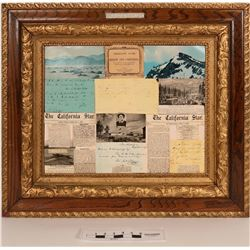 Donner Party Reproduction in Antique Frame  (122762)
