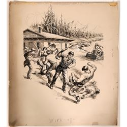 Fighting at Trout Creek  (110425)
