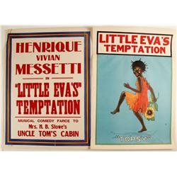 Lithographs of Henrique Vivian Messetti's in Little Eva's Temptation  (78970)