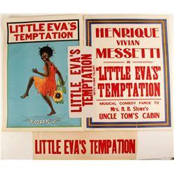 Little Eva's Temptation Lithographs (4 Different)  (78966)
