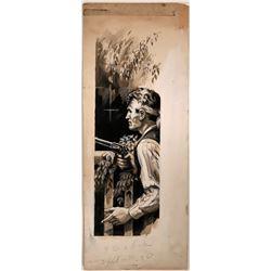 Man Holding  Pistol  (109846)