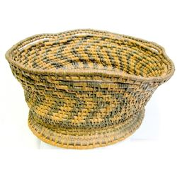 Old Basket, Possible Southern California made, c1920's.  (84861)
