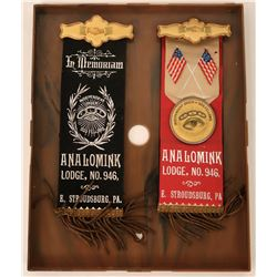 Independent Order of Odd Fellows Badges  (124325)
