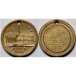 U.S. Mint Philadelphia Religious Christian Medal Lord's Prayer  (118828)