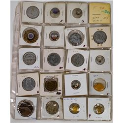 Woodmen of the World Tokens/Buttons Group (19)  (120254)
