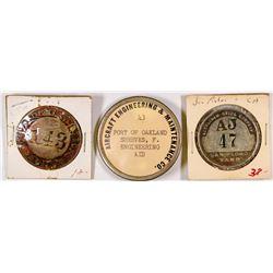 Worker Badges - 3  (125856)