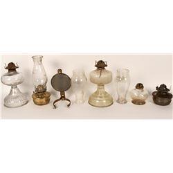 Alcohol/kerosene Glass Lamp Group (12)  (125125)