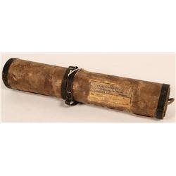 Postal Shipping Tube, Early Twentieth Century  (110298)
