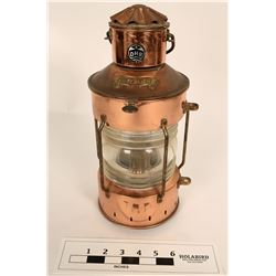 Copper Mariners Lamp  (125023)