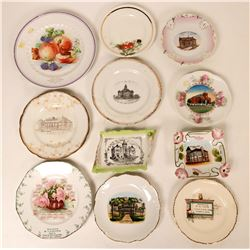 Souvenir Plate Collection,Kansas (11)  (115359)
