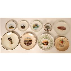 Souvenir Plate Collection, Missouri (10)  (115365)