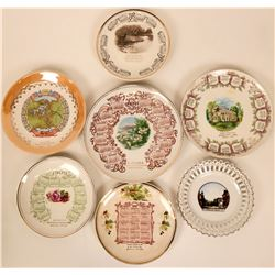 Souvenir Plate Collection, Oregon (7)  (115375)