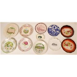 Souvenir Plate Collection, East Coast (11)  (115353)