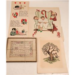 Children's Broadsides (4)  (109496)