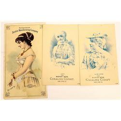 Corset Trade Cards  (124124)