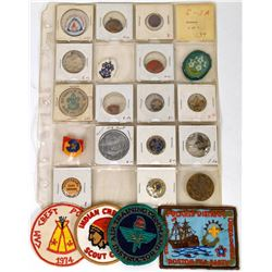 Scouts Token/Medal/Pin/Patch Collection (22)  (120255)