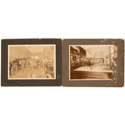 Early B&W Photographs of San Diego Store and Auto. Garage  (122923)