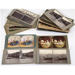 Stereoview Collection (34)  (124125)