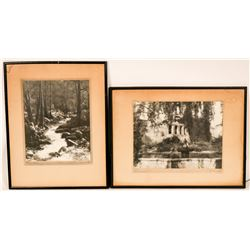 Two B/W Photographs by Alfred Evans  (116733)