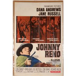 """Western Poster / """" Johnny Reno"""" Advertising Poster  (109693)"""