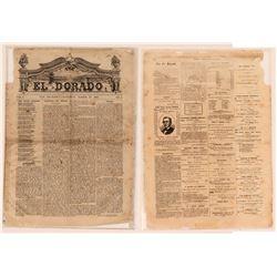 The El Dorado theatrical newspaper March 1869  (120227)
