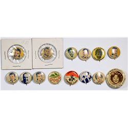Movie Star Pinback Collection  (124269)