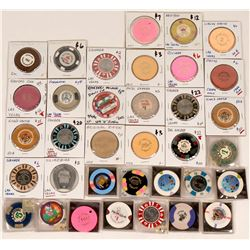 Las Vegas Casino Chip Collection  (124002)
