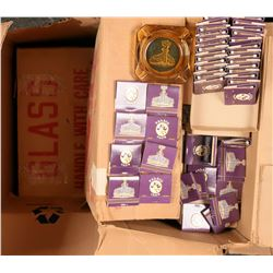 Palace Club (Casino) Ash Trays and Matches in original shipping boxes  (122747)