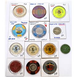 Foreign Gaming Tokens  (124059)