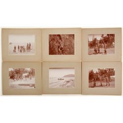 Mounted Lake Tahoe Photographs of Family Vacation  (58306)