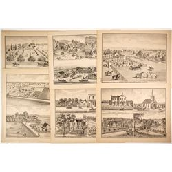 Rural Yolo County Lithographs  (82451)