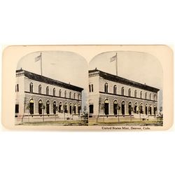 United States Mint Stereo View  (123133)
