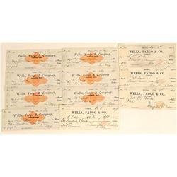 Eleven Carson City Wells, Fargo & Company Checks  (123125)