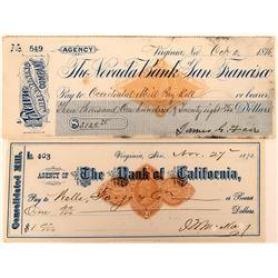 Rarer Fair Signed Check  (123127)