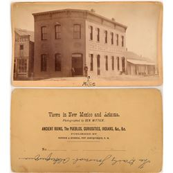 Cabinet Card of The Daily Journal, Albuquerque, New Mexico  (113098)