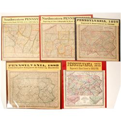Pennsylvania Maps (5)  (63116)
