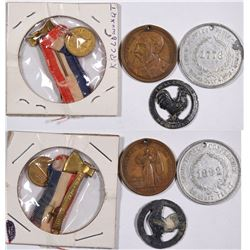 Presidential Medals (4)  (124180)