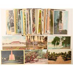 Los Angeles, CA Parks Postcards  (103291)