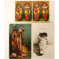 Babyboards & Baby Baskets Postcards (6)  (91161)