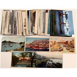 Sail Boats & Small Boats Postcards (50)  (105313)