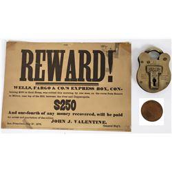 Faux Wells Fargo Items  (124535)
