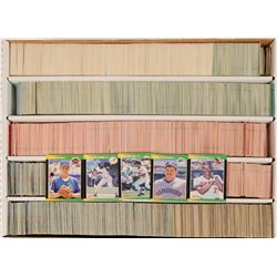 Don Russ Baseball Card Group (~2500 cards), c1988-1992  (122745)
