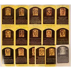 National League Autographed HOF Postcards  (116081)