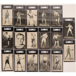 Boxers Cards, 17 from Various Weight Classes  (117207)