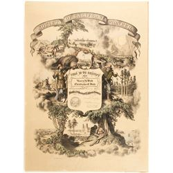 Society of California Pioneers Membership Poster, 1914  (79678)