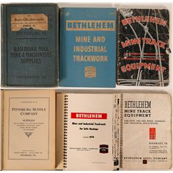 Three Different Mine Track Catalogs  (115491)