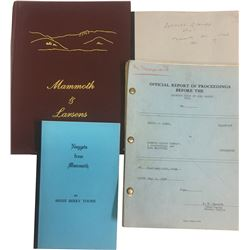 Mammoth, UT Mining Books (4)  (86653)